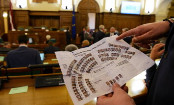 Опрос: жители Латвии уверены, что способны повлиять на работу Сейма и правительства