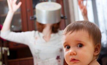 Mamma uz izdegšanas robežas: astoņi veidi, kā nekaitīgi 'nolaist tvaiku'