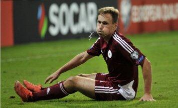Pātelainens savainotā Kameša vietā uz Latvijas futbola izlasi izsauc Višņakovu