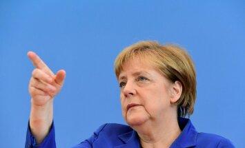 Merkele: vienošanās ar Turciju kalpos par paraugu līdzīgiem līgumiem ar Ziemeļāfrikas valstīm