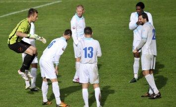 'Jūrmalas' futbolisti atsakās doties laukumā virslīgas čempionāta spēlē