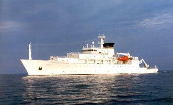 Ķīnas flote amerikāņu degungalā sagrābusi ASV flotes zemūdens dronu