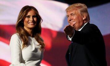 ВИДЕО: Двойник Мелании Трамп зарабатывает 3 тысячи долларов за вечер