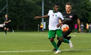 Jūrmalas 'Spartaks' uzvar 'Metta/LU' un turpina cīņu par futbola virslīgas zelta medaļām