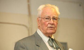 Okupācijas muzeja biedrības vadītājam Valteram Nollendorfam – 85