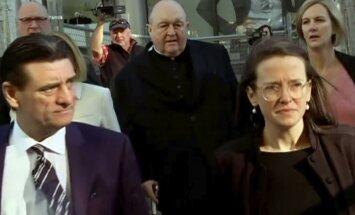 Austrālijas arhibīskaps atzīts par vainīgu pedofilijas noklusēšanā
