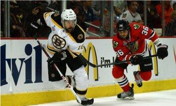 Daugaviņa 'Bruins' nenosargā pārsvaru un ar dramatisku zaudējumu sāk Stenlija kausa finālu