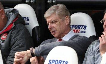 'Arsenal' šķiras no ilggadējā galvenā trenera Vengera