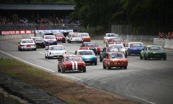 'Hell Grand Prix' dalībnieki gatavi Latvijas 'Nascar' sacīkstēm Biķernieku ovālā