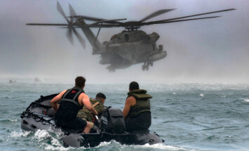 Foto: Meksika, Kanāda un ASV grandiozākajās jūras spēku mācībās pasaulē RIMPAC