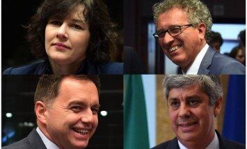 Portugāles 'finanšu Ronaldu' – Reiznieces-Ozolas galvenais konkurents cīņā par Eirogrupas vadību