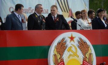 Ukraina un Rumānija slēgušas gaisa telpu lidmašīnai, kurā bija jālido Krievijas vicepremjeram Rogozinam
