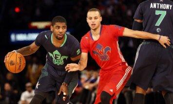 'Cavaliers' zvaigzne Īrvings ļoti vēlas pievienoties Porziņģim un 'Knicks'
