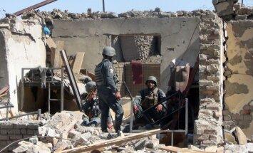 Talibu uzbrukumā policijas iecirknim Afganistānā nogalināti vismaz pieci policisti