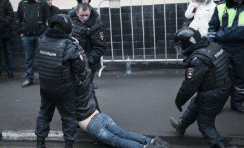Maskavā aizturēti vairāk nekā četri simti 'Bolotnaja lietā' apsūdzēto atbalstītāju