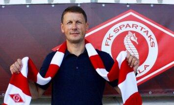 Latvijas čempionu 'Spartaks' vadība uzticēta lietuvietim Ražanauskam