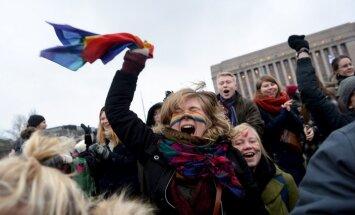 Somijā viendzimuma pāru reģistrētās partnerattiecības atzīs par laulībām