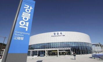 Dienvidkoreja vēlas, lai tās Ziemas olimpiskajās spēlēs piedalītos arī Ziemeļkorejas sportisti
