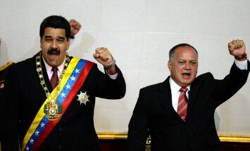 Venecuēlas prezidents pēkšņi vēlas anektēt lielāko daļu kaimiņvalsts