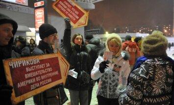 Krievijas opozīcijas aktīviste pārcēlusies uz Igauniju