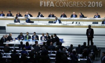 FIFA Presidential election during the Extraordinary Congress in Zurich