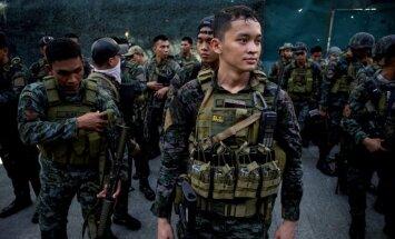 Atpūtas kompleksā Manilā apšaudē un ugunsgrēkā gājuši bojā 36 cilvēki