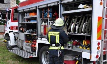 Kocēnu novadā nodzēš paaugstinātas bīstamības ugunsgrēku
