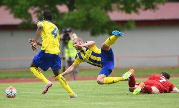 'Metta'/LU futbolisti atņem punktus arī virslīgas vicelīderei 'Ventspilij'