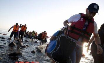 Egejas jūrā noslīkuši pieci nelegālie imigranti