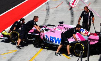 'Force India' komanda izvairās no maksātnespējas