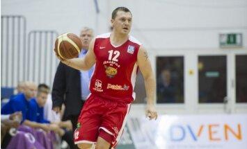 'Jēkabpils' basketbolisti mača pēdējās sekundēs pieveic 'VEF Rīga' vienību