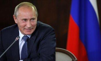 Putins ieradies Vizītē Ķīnā