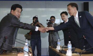 Naidīgās Korejas valstis vienojas par kopīgā kompleksa darbības atsākšanu