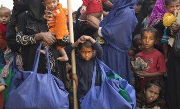 Bangladeša un Mjanma vienojas par 1500 rohindžu repatriāciju katru nedēļu