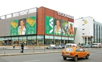 Foto ieskats vēsturē – pirms 15 gadiem atklāj universālveikalu 'Stockmann'