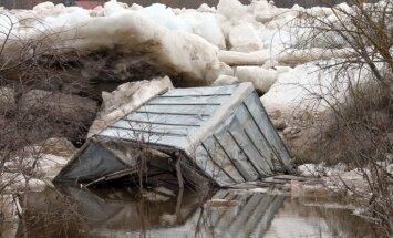 Kozlovskis un Sprūdžs dodas uz plūdu apdraudētajām Pļaviņām
