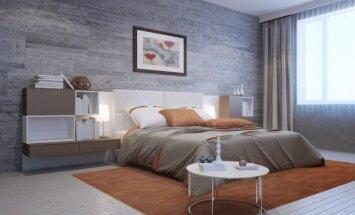 Grīdas segums uz sienām – idejas citādākam linoleja un lamināta izmantojumam