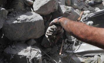 Sīrijā arsenāla eksplozijā gājuši bojā 15 krievu privātie drošībnieki