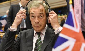 'Tas ir beigu sākums šai briesmīgajai savienībai,' par 'Brexit' priecājas EP labējie spēki