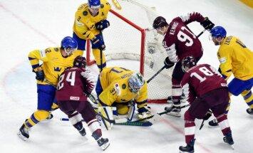 Video: Pasaules hokeja čempionāta ceturtdaļfināla skaistākie vārti un iespaidīgākie 'seivi'
