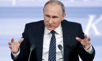 Putins par S-400: lai Turcija pamēģina palidot Sīrijā