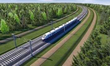 Vizualizācija: Kā izskatīsies pretrunīgi vērtētais 'Rail Baltica' dzelzceļš