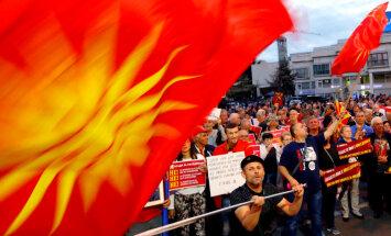 ES apsver aicināt blokā Albāniju un Maķedoniju
