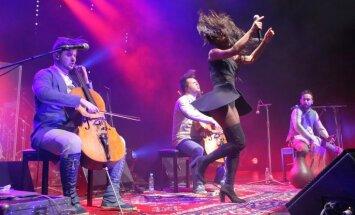 Foto: 'Dagamba' noslēdz Latvijas turneju ar vērienīgu koncertu 'Palladium'