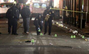 Ņūorleānas Franču kvartālā sašauti 10 cilvēki