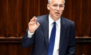 NATO nepalīdzēs Izraēlai Irānas uzbrukuma gadījumā, paziņo Stoltenbergs