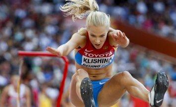 Krievijas tāllēcēja Kļišina ar sezonas labāko rezultātu pasaulē uzvar Rīgas čempionātā telpās