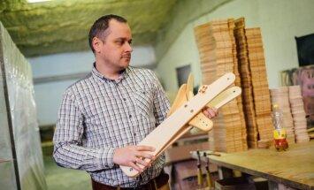 Latvija var! 'Dip Dap' skrejriteņi ripo pretim atpazīstamībai Eiropā