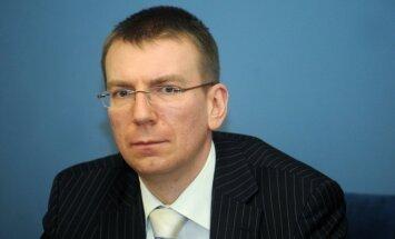 Nav pieļaujama 'iesaldēta konflikta' izveidošanās Ukrainā, paziņo Rinkēvičs