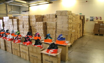 Таможенники изъяли 24 528 пар контрафактных кроссовок Nike